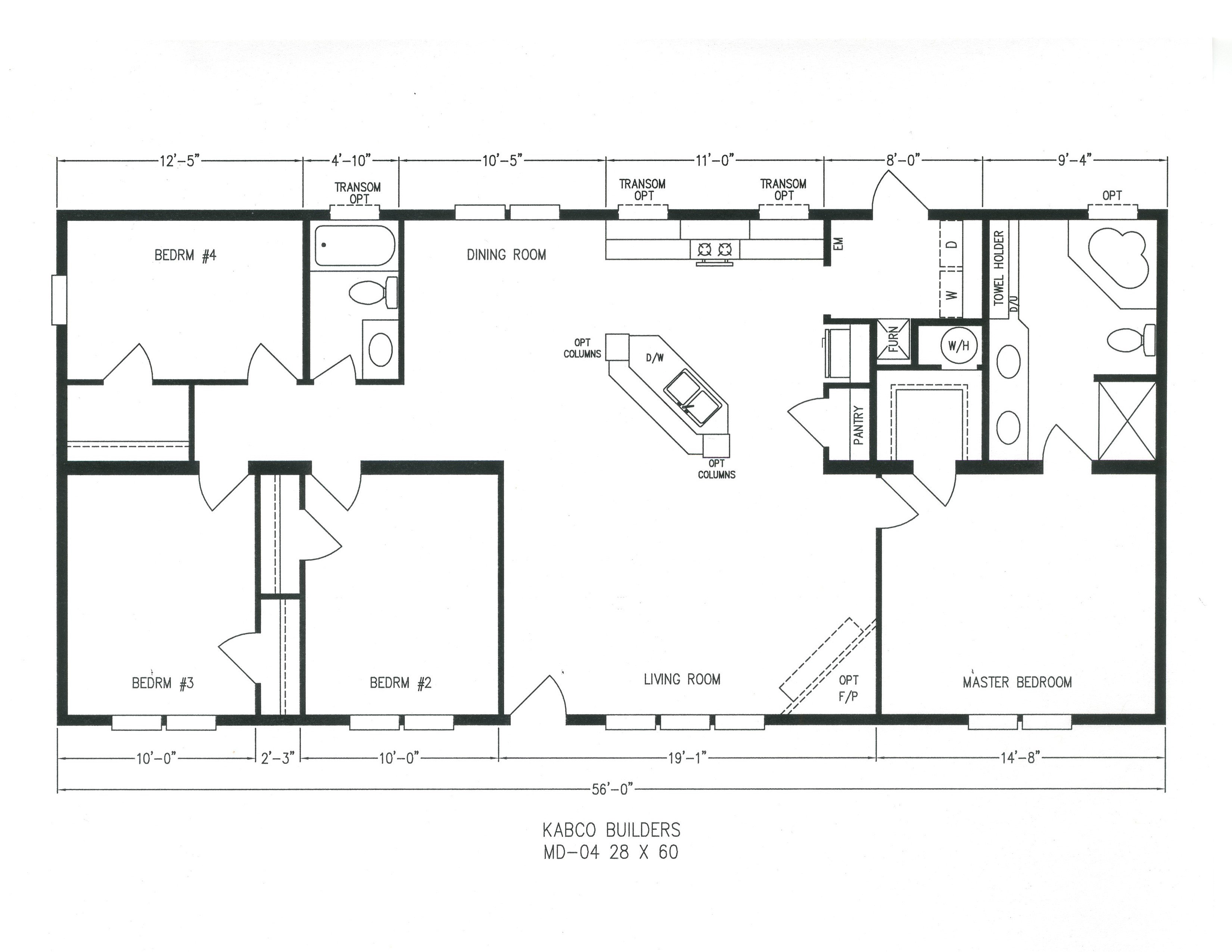 100 18 x 80 mobile home floor plans clayton homes for 18x80 mobile home floor plans