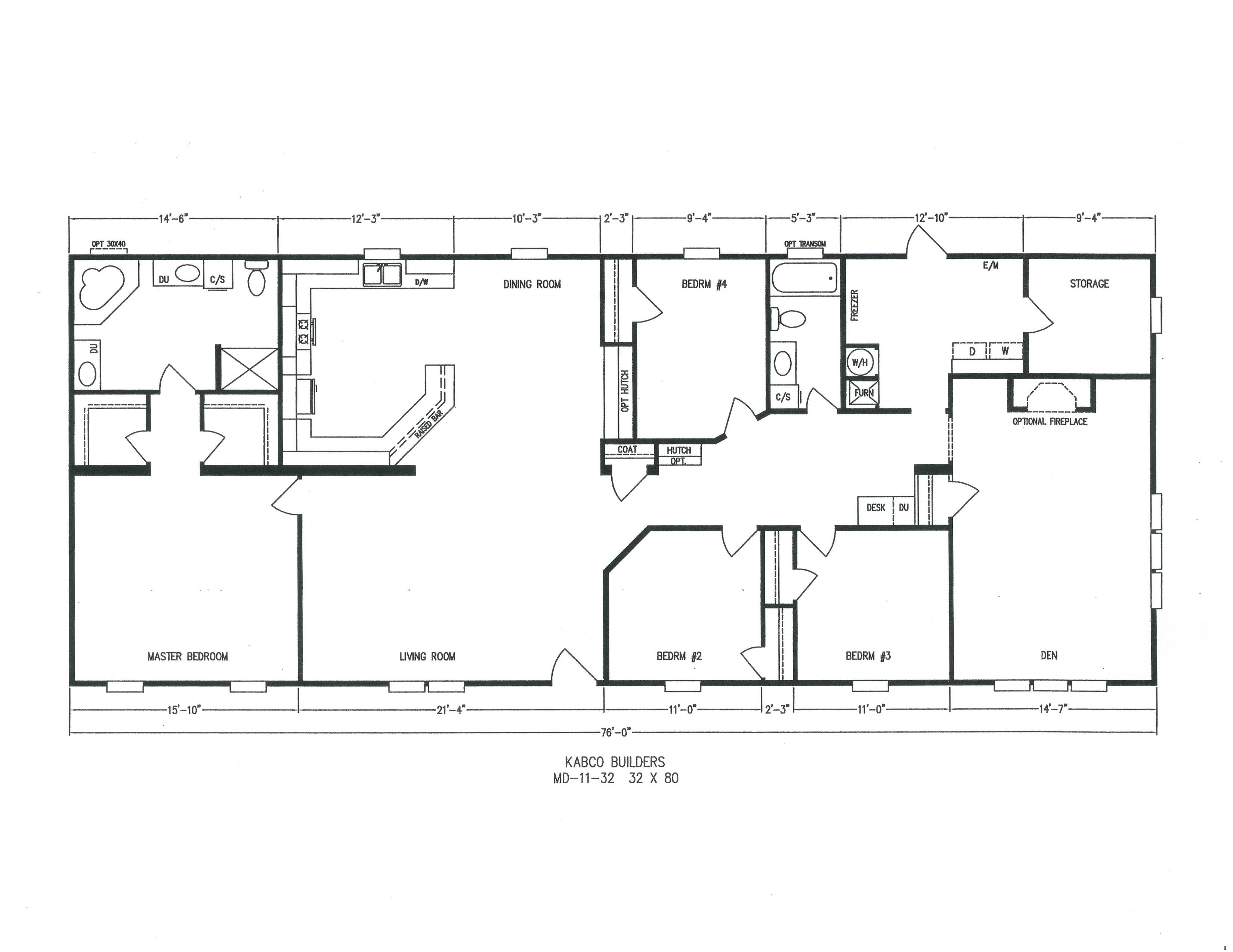 kabco builders - Home Floor Plans